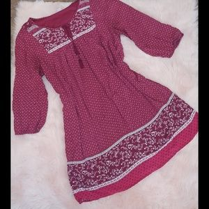 Sale 💰Old navy Fully lined peasant dress boho